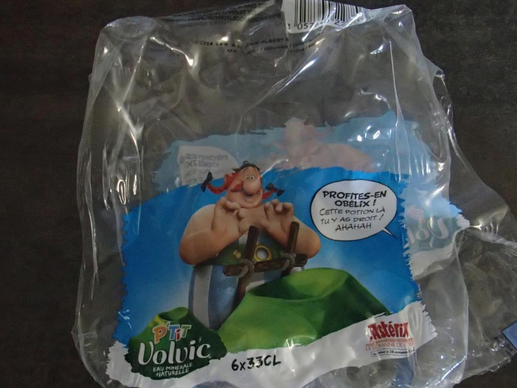 emballage volvic