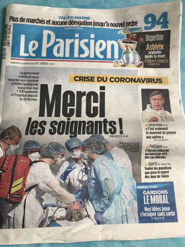 LE PARISIEN 2019
